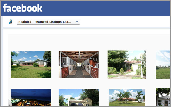Featured Properties Facebook Application